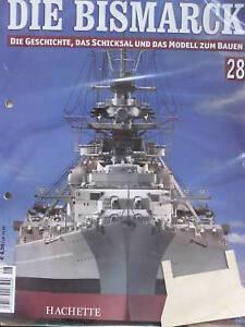 Bismarck-Edicion-28-Hachette-la-Historia-y-Modelo-Construir