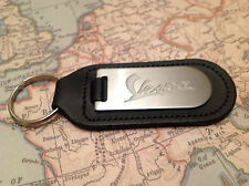 VESPA Key Ring Blind Etched On Leather