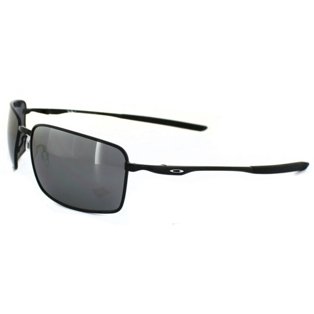 188c5d5503e Oakley Sunglasses Square Wire OO4075-01 Polished Black Black Iridium