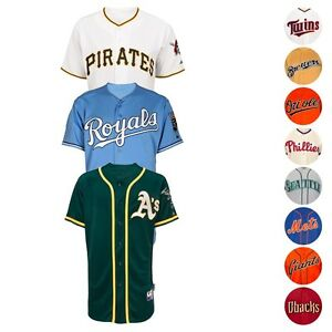 MLB-Official-Authentic-On-Field-Cool-Base-Majestic-Team-Jersey-Collection-Men-039-s