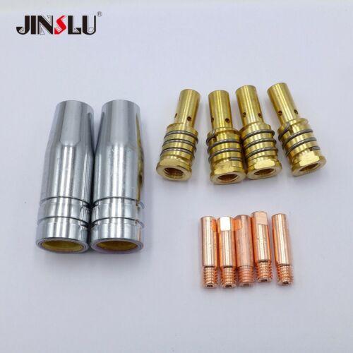 Contact Tip Nozzle Kit fit ESAB CADDY MIG C160i C200i WELDER MXL 180 Torch