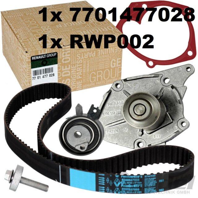 KIT CD courroies + pompe à eau Clio Megane Scenic Twingo1.5 7701477028 CT1035WP3