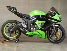 M4 GP Mount Full System CERAMIC BLACK SATIN muffler Kawasaki ZX6R 2013 2014