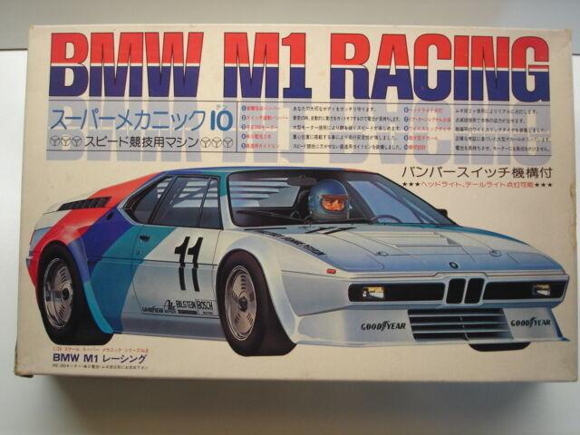 Fujimi Vintage 1 24 Scale BMW M1 Racing Model Kit - New SM8-500 - Rare Kit