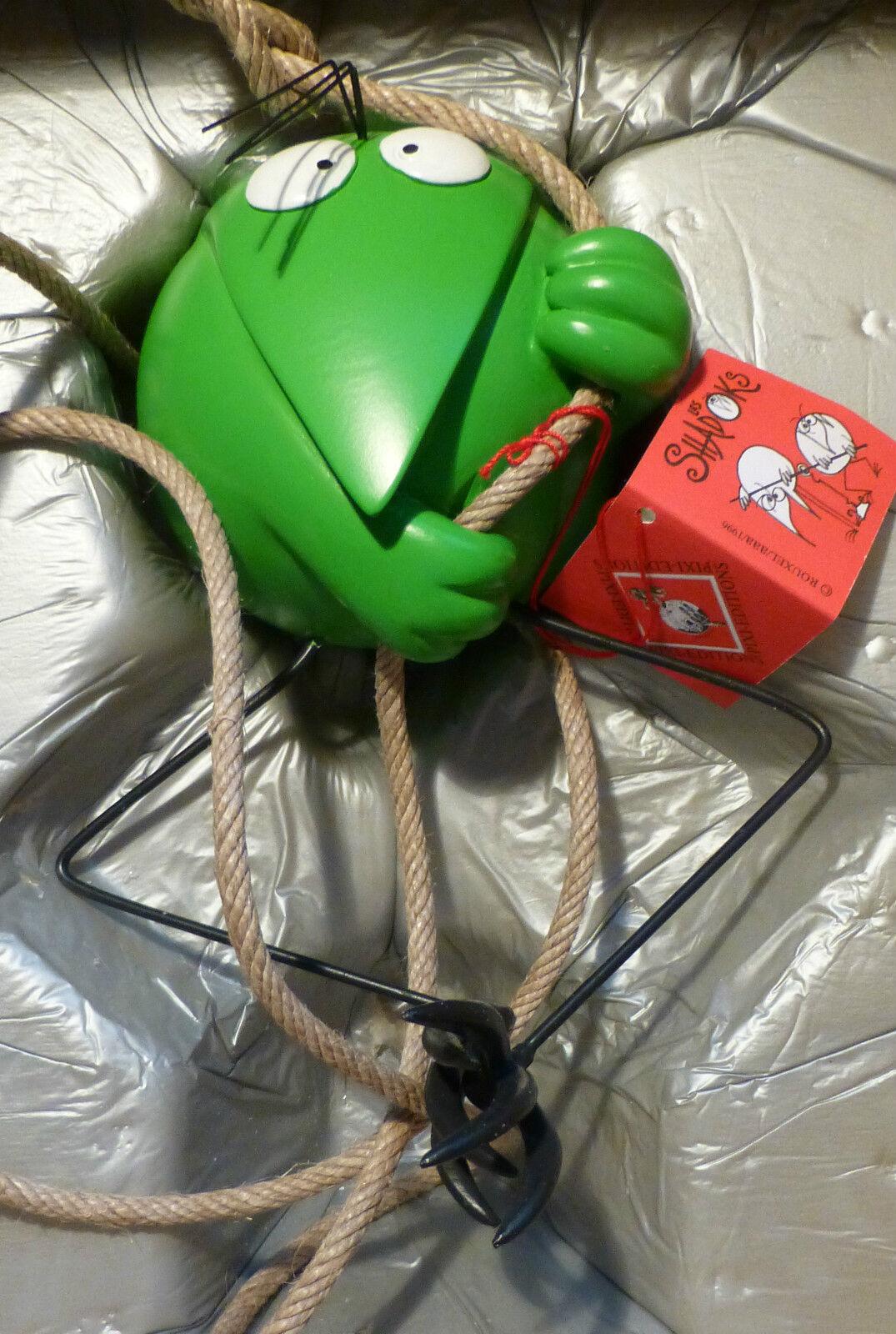 Pixi Resin     Metall Figure Shadok Grün 17 cm 40706 Auflage 850 Stück 528410