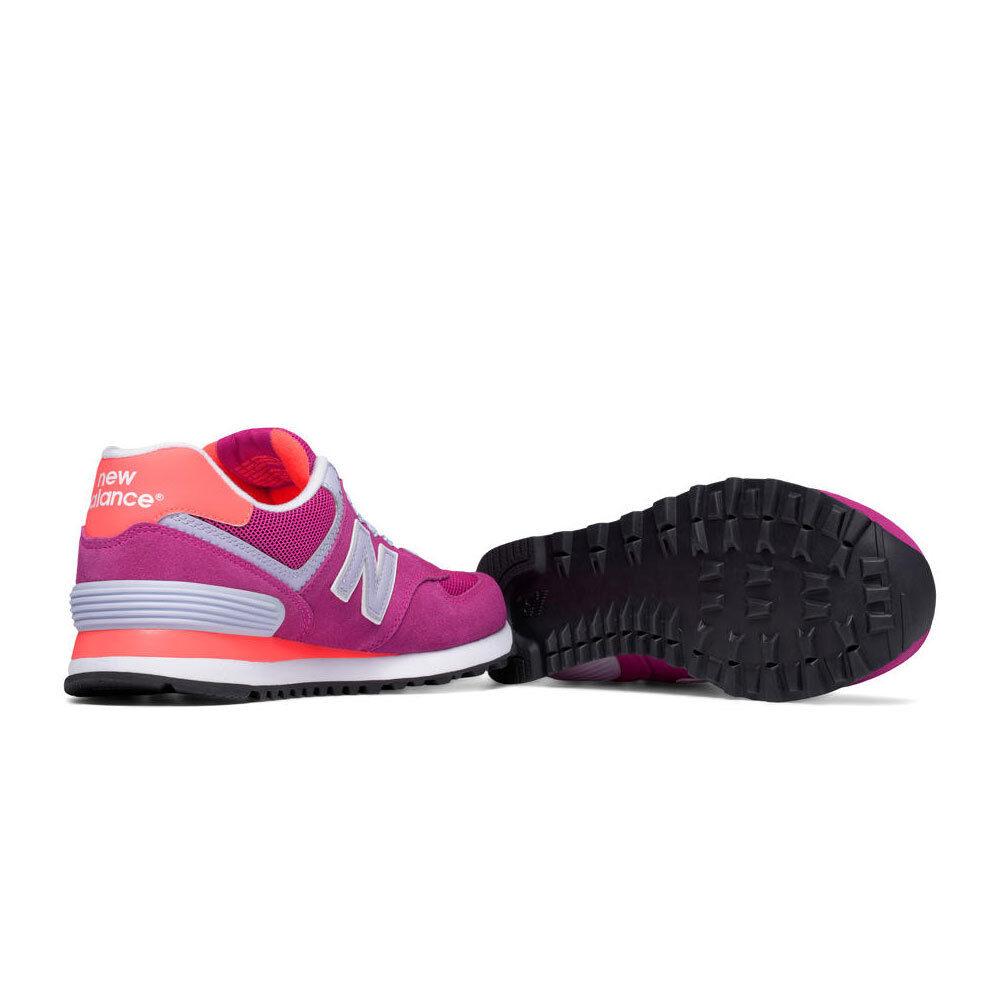 New New New Balance 574 Core Classic Damen-Sneaker Schuhe Veloursleder Leder Echtleder 5429e4