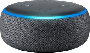 Amazon Echo Dot 3rd Generation Smart Speaker with Alexa - Charcoal