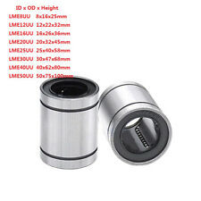 Linear Motion Ball Bearing Machinery Slide Bushing Lme812162025304050uu