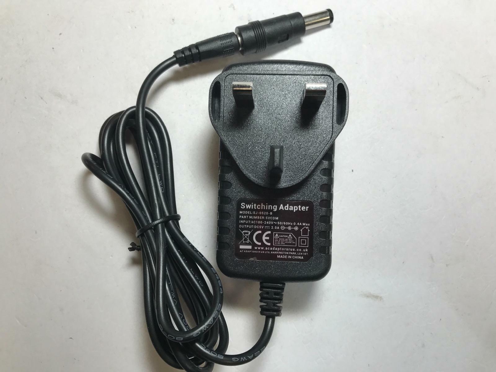 5V 0.5A 500mA AC-DC Switching Adaptor Power Supply 6x4.3 6.0mmx4.3mm