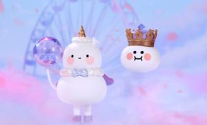 POP MART x BOBO/&COCO Balloon Land Fruit Shake Unicorn Mini Figure Toy Secret New