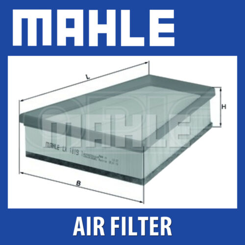 Fits Renault Twingo RS Mahle Air Filter LX1819//1 Genuine Part