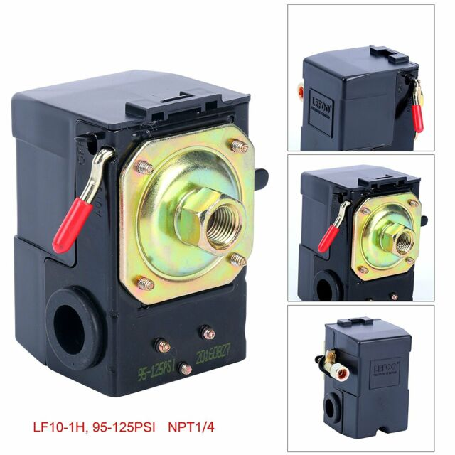 Lefoo Air Compressor Pressure Switch Control Valve 95-125 PSI