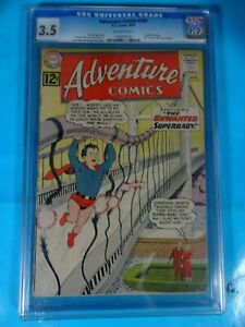 CGC-Comic-graded-3-5-DC-adventure-comics-299-Key-1st-gold-kryptonite