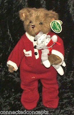 Christmas Bearington Bears - Rocco & Socko (1767) Fall 2006 NEW!