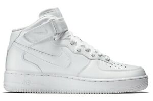 Nike Air Force 1 Mid 07 White UomoDonna Sneakers Alte