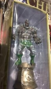 DOOMSDAY-DC-Superhero-Chess-Figure-Collection-55-Black-Rook-Eaglemoss-sealed