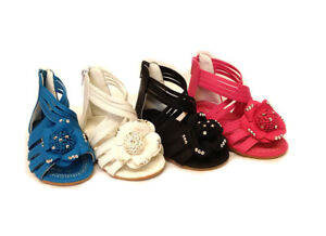 New Girls Baby Infant Kids Flats Pumps Sandals Slippers Party Wedding Shoes Size