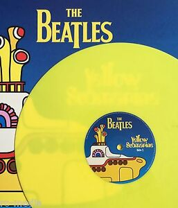 The Beatles Yellow Submarine Songtrack Yellow Vinyl Uk Lp Very Limited Edition Ebay