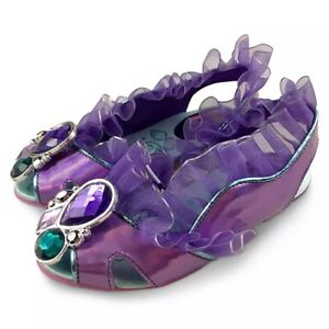 NWT Disney Store Princess Ariel Jelly Sandals Shoes 9//10 Girls