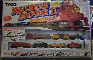 Details about VINTAGE TYCO RAILROAD EMPIRE II HO TRAIN SET SPECIAL EDITION  117 PC SET *READ*