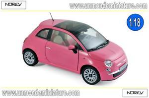 Fiat 500c 2010 So Pink Norev - No 187752 Echelle 1/18