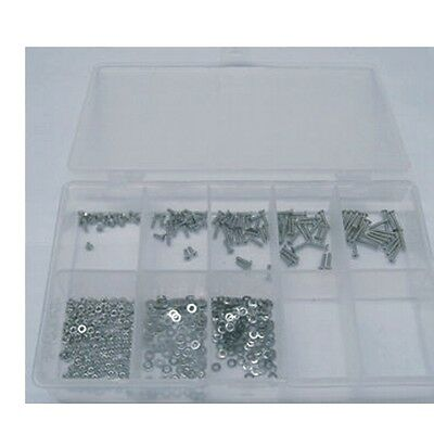 M2 Innensechskantschrauben V4A Sortiment 500tlg Edelstahl A4 DIN7991