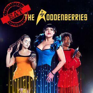 The Roddenberries Album Eat The  Roddenberries Sci Fi Party Band CD Star Trek