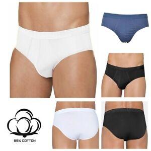 Briefs-Sloggi-Men-EverNew-H-Midi-95-Cotton-Black-Blue-White-S-4-XL-7