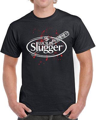 541 Lucille Slugger womens T-shirt negan zombie walking tv show dead saviors new
