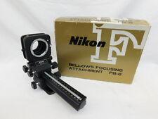 NIKON PB-6 BELLOWS FOCUSING ATTACHMENT IN ORIGINAL BOX MACRO MICRO RARE