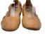 thumbnail 5 - Yosi Samra Lexington Saddle Vegan Leather Foldable Ballet Flats Camel Tan Size 6