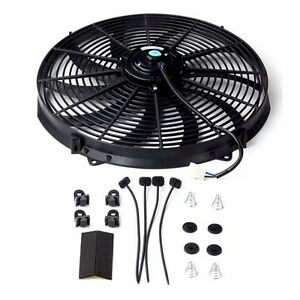 16 inch universal slim fan push pull electric radiator for 16 inch window box fan