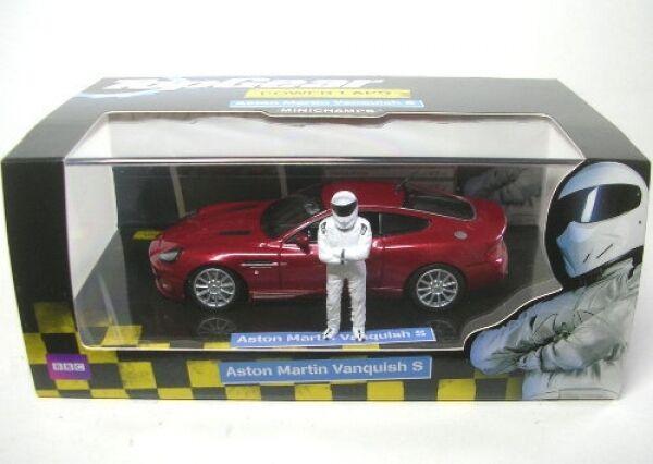 Aston Martin Vanquish S TOP Gear (Red) 2004