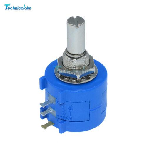 5Pcs 3590S-2-103L10K Ohm Rotary Wirewound Precision Pot 10 Turn  Potentiometer