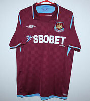 West Ham United England home shirt 09/10 Umbro