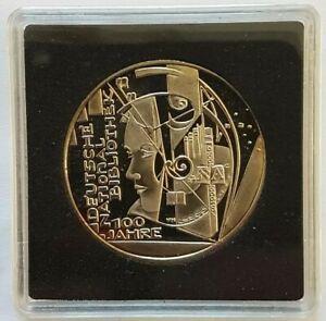10 Euro Allemagne 2012 bibliothèque national allemande UNC sous capsule quadrum