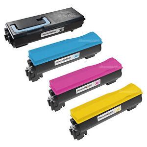 4-Pack-TK-582K-TK582-Black-amp-Color-Toner-Cartridge-for-Kyocera-Mita-FS-C5150DN
