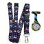 Best-deal-of-Nurse-Watch-Lanyard-Neck-Strap-for-ID-Badge-Holder-Spirius-Brand