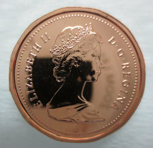 1986 CANADA 1 CENT PROOF-LIKE PENNY COIN