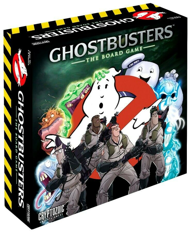 Ghostbusters Board Game [With Exclusive Glow-in-the-Dark Slimer ]