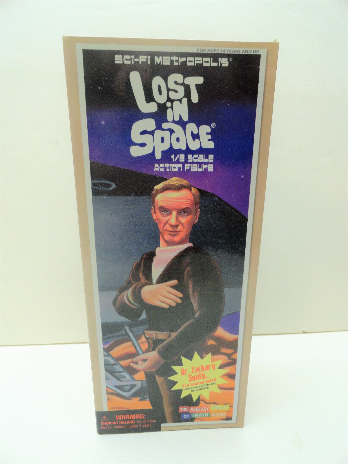 LOST IN SPACE DR. ZACHARY SMITH 12
