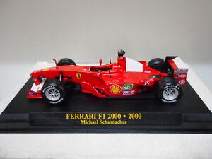 FERRARI-F1-2000-MICHAEL-SCHUMACHER-2000-FORMULA-F1-ALTAYA-IXO-1-43-HARD-BOX