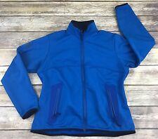 Arc'Teryx Polartec Soft Shell Jacket Women's L Blue Water Repellent Fleece