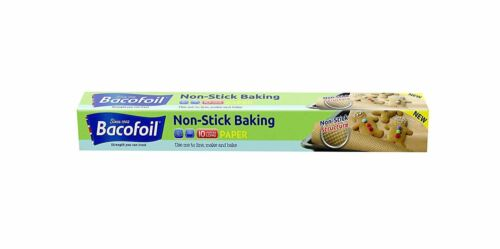 Baco Non Stick 3D Structured Baking Paper 10metre Single Pack of 6
