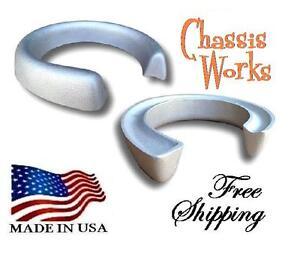 """100% De Qualité 1971-2010 Chevy C10 C20 C30 C 1500 2500 3500 2.5"""" Lift Coil Spacers Leveling Kit Texture Nette"""