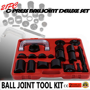 21PC C PRESS TRUCK CAR BALL JOINT NICE DELUXE SET SERVICE REMOVER INSTALLER KIT