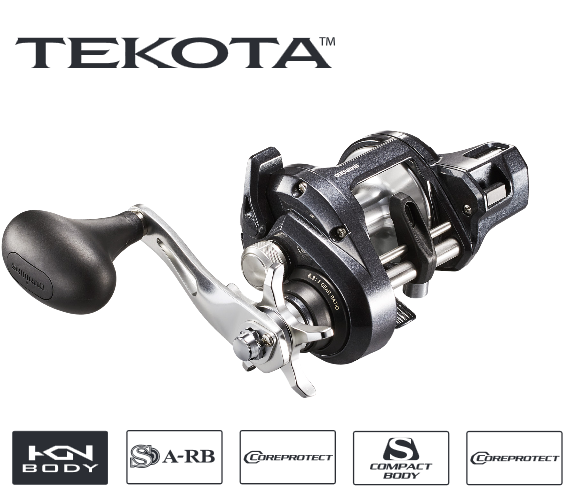 SHIMANO TEKOTA -A with LINE COUNTER TEK500HGLCA - Newly Designed for 2019