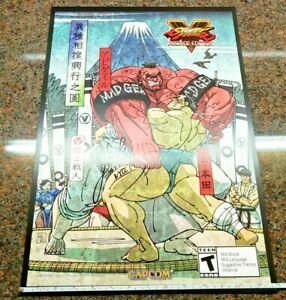 Street-Fighter-V-Arcade-Edition-Poster-Signed-Yoshinori-Ono-NYCC-E-Honda-Zangief
