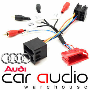 audi tt 1999 2006 car stereo bose fully amplified rca. Black Bedroom Furniture Sets. Home Design Ideas