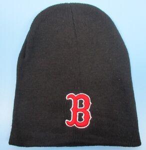 6ddf264b8b4 Boston Red Sox - Black Winter Hat (Beanie Style) - FREE SHIPPING ...
